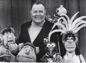 Jonathan Winters and Muppets
