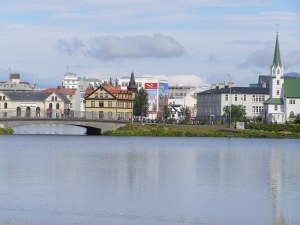 As a North American, I was not used to the beautiful simplicity of a European city (Reykjavik)