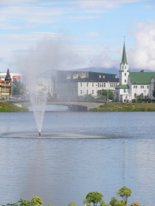 The pond in Reykjavik was a magical place to write and think