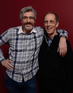 Director Michael Rossato-Bennett (l) and social worker Dan Cohen (r)