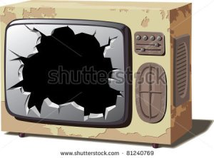 tv-set-with-a-broken-screen-81240769