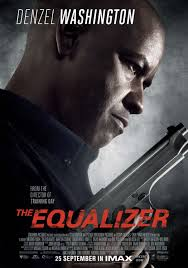 equalizer movie poster