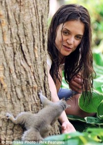 "Love the internet for this stuff...""woman talking to squirrel"""