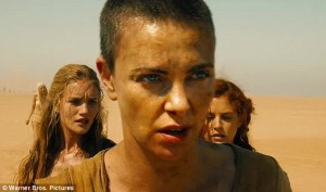 Imperator Furiosa (Charlize Theron) just wanted a peaceful drive in the desert