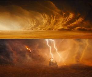Chase into sandstorm best part of movie