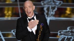Simmons won Oscar, BAFTA, Golden Globe & SAG