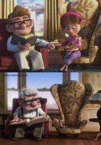Up talked about loss and aging
