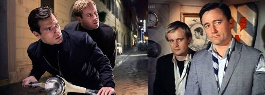 Now & Then: Chemistry is key for bickering twosome Napoleon Solo (dark hair) and Illya Kuryakin