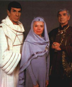 Spock was every bit his warring human and vulcan sides