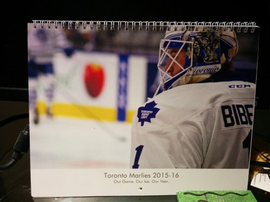A collection of my photos and season schedule for fans (available for $20 CDN + postage)
