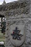 A crimson reminder of the fallen