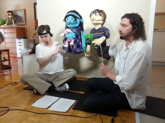 Kevin Nic puppets