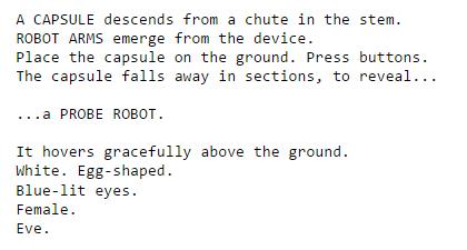 wall-e script